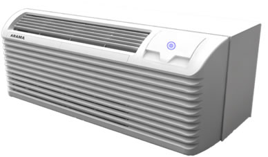 Image of DC Inverter PTAC (PTHP) high efficiency hotel air conditioner - through-wall type AC uni