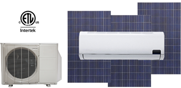 solar heat pump air conditioner picture