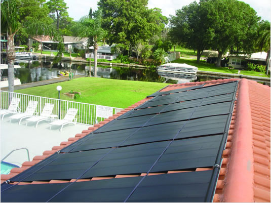 Pool Heater Pictures | Images of Pool Heating Panels | Solar ...